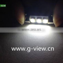 festoon 36mm 5050 3smd led auto festoon 12v led car interior c5w festoon led car