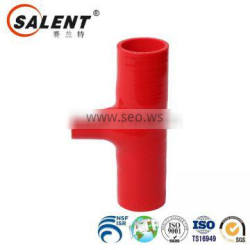 """1 1/4"""" + 1""""T Shape Silicone Hose 32+25mmT type Intercooler Turbo Pipe RED"""