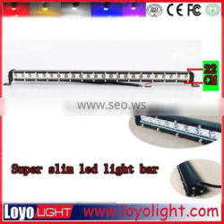 Trade assurance supplier ! Slim 25inch Led light bar spot flood combo for truck