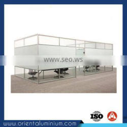 high quality aluminium profile for office partition