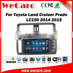 Wecaro WC-TP9007 android 5.1.1 car dvd player toyota prado 2014 2015 2016 car gps navigation system multimedia radio audio