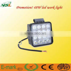 LED Work Lights for Truck 12V 24V 45W Crystal LED Auto LED Work Lamp
