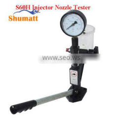 Diesel Injector Nozzle Pop Tester with 0 - 400 BAR / 0 - 6000 PSI