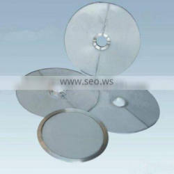 Pharmaceutical, chemical and food industry SS filter disc manufacture