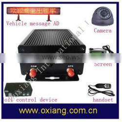 New gps vehicle tracker gps auto tracker with fuel collector and temperature sensor