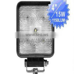 15w waterproof led truck work light high power led work light