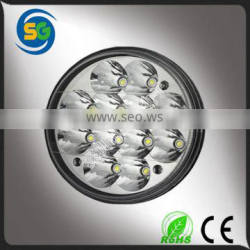 36W Epistar LEDs IP67 offroad truck light round led auto light