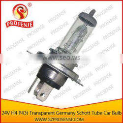 Germany Schott Glass 24V 100/90W H4 P43t Truck Halogen Bulb