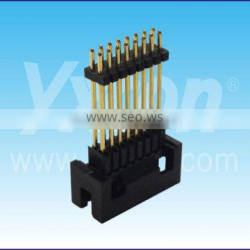 Dongguan SGS certificate pitch 2.0mm triple layer dual row straight box header connector
