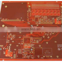 ENIG High Frequency Multilayer PCB 10 Layer , 1 OZ Copper Thickness PCB