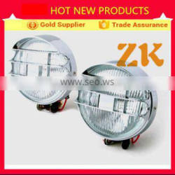China semi truck parts halogen 12V 24V 4X4 trailer forklift auto parts fog light