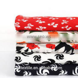 polyester dress bubble fabric textile printing clothing fabric