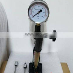S60H Diesel Injector Nozzle Pop Tester with 0- 600 BAR