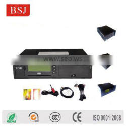 gps tachograph gps tracking device with printer LCD screen