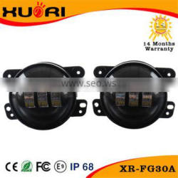 7 inch 30w motorcycle parts LED headlight for Harley jeep wrangler off road with projector 10-30v
