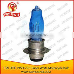 Hot sale HOD 12V 25/25w Motorcycle Bulb P15d