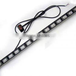Emergency Vehicle LED Traffic Advisor Strobe Light bar, LED Directional Warning Light Bar(SR-DL-820-16)1W Linear Type LED