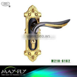 TRI-CIRCLE European style lock door lock types,Entrance doors handle lock,handle lock