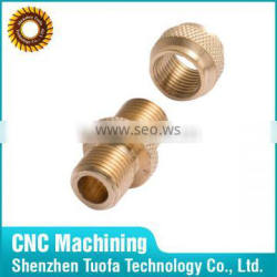 CNC machining OEM customized aluminum bronze brass steel bushing