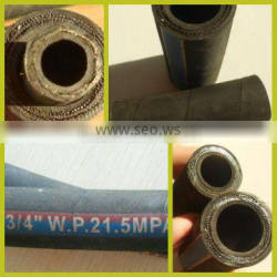 Steel Wire Reinforced High Pressure Rubber Hoses