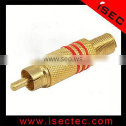 Security product accessories bnc male connector to screw terminal
