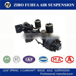 Air suspension axle for trailer