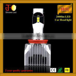 2016 new paten 20W 2400lm Integrated CANBUS Car LED Headlight H11kit