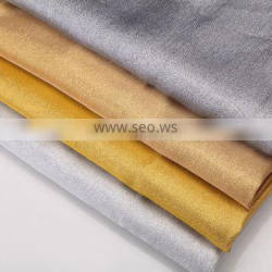 2015 Popular Golden And Silvery Christmas Decorative Iridescent Fabric