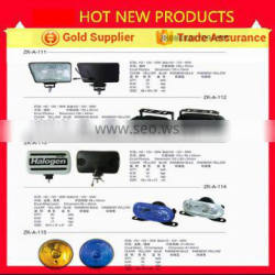 E-mark approved 4 inch round led rear light for truck and trailer