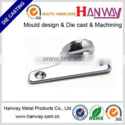 China factory customized die casting aluminum swivel chair base parts