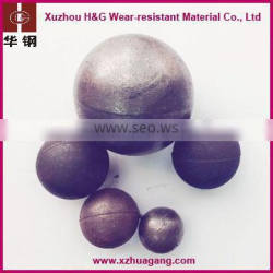Factory direct sale high chrome steel ball casted grinding ball
