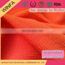 Hot selling Shaoxing supplier Cheap Knitted pop and fashion polyester jersey fabric