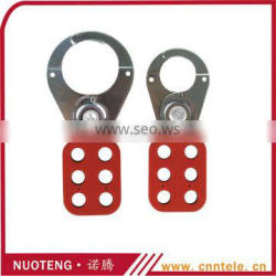 6 hole steel PA coated without jaws hasp lock out