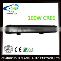single row led work light 100w 17.4 inch led bar light