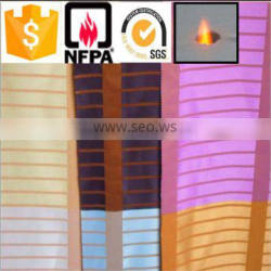 China suppliers 100% polyester high quality inflaming retarding wholesale fabric for curtains
