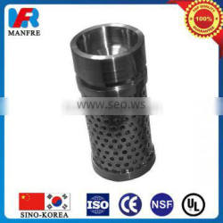 Precision hydraulic oil suction filter element for coal mining