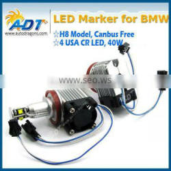 Hot sale E92 H8 40w H8 led car e92 ring marker h8 40w h8 led marker lamp