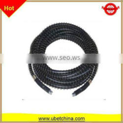 SAE 100R DN 6 with smooth surface and protector for cleaning machine price rubber hose
