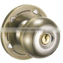 H33A-AB Hot sell and High quality material / security stainless steel Door knob lockset