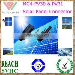 TUV Approval MC4-PV30 & PV31 Solar Panel Connector