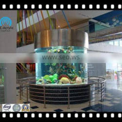 round acrylic aquarium for hotel on sale