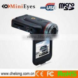 China manufacturer 2inch super wide-angle IR lights vehicle dvr 1080p ir night vision and wdr functio