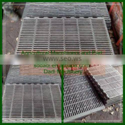 Professional farrowing stall farm machinery spare part high quality long life sapn cast iron slats for pigs