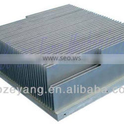 6063 T6 Aluminum extrusion radiator / Aluminum extrusion heat sink / Aluminum extrusion Profiles