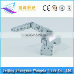 aluminum robot spare part,toy robot part,robotic arm or leg part