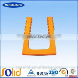 Plastic cast iron manhole ladder manhole step