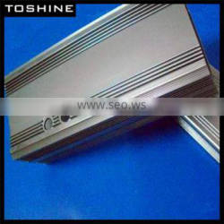 popular electronic product extruded aluminum shell