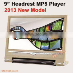 Headrest monitors for passat with USB SD MP5 player