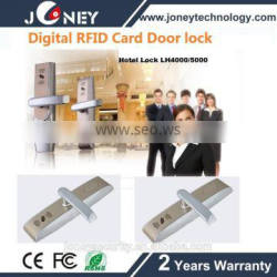 Standalone electronic locks for hotels with 13.56mhz MF tech