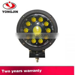 Hight brightness led working light for car 60W round LED driving light